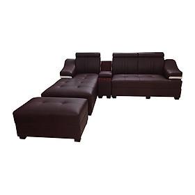 Bộ sofa góc Juno Li-Concept 310 x 180 x 75 cm Đỏ Nâu