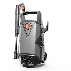Bơm áp lực rửa oto xe máy 1400W 100Bar (Kèm bộ phụ kiện) (Màu Đen)