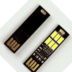 Đèn cảm ứng mini mỏng, gọn cắm cổng USB ( TẶNG ĐÈN 4 LED DÁN TỦ SIÊU SÁNG )