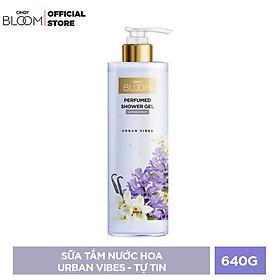 Sữa Tắm Nước Hoa Cindy Bloom Urban Vibes - Tự Tin 640g
