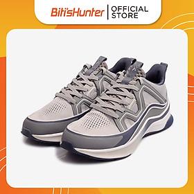 Giày Thể Thao Cao Cấp Nam Biti's Hunter X Washed Grey DSMH05100XAM (Xám)