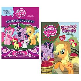 Bộ Sách Tô Màu My Little Pony (Bộ 2 Cuốn)