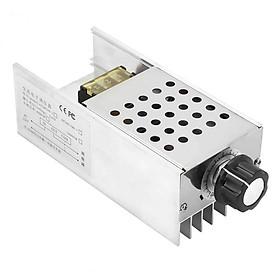 Dimmer AC 220V 6000W, điều khiển tốc độ động cơ, Đèn điện, quạt máy, máy mài ...