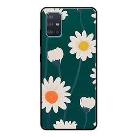Ốp lưng điện thoại Samsung Galaxy A51 viền dẻo TPU BST HOA Mẫu 8