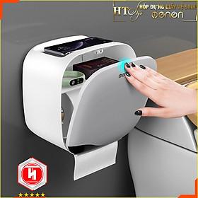 Hộp đựng giấy vệ sinh dán tường đa năng HT SYS -Chống ẩm, chống thấm nước tuyệt đối