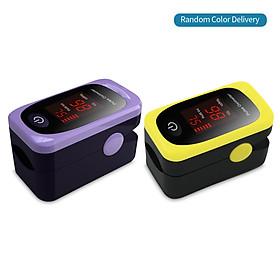 Digital Fingertip Pulse Oximeter LED Display Blood Oxygen Sensor Saturation SpO2 Monitor Measurement Meter with Beep