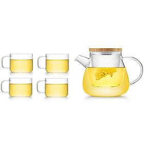 Bộ bình trà thủy tinh Samadoyo T94 (600ml)