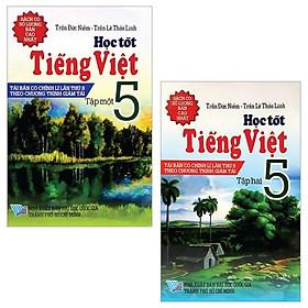 Combo Học Tốt Tiếng Việt 5: Tập 1 + 2 (Bộ 2 Tập)