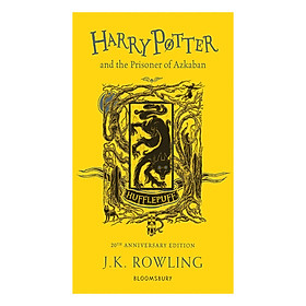 Harry Potter and the Prisoner of Azkaban (Hufflepuff Edition Paperback) (English Book)