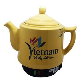 Ấm sắc thuốc Trường An TA68 Vàng   - Hàng chính hãng - Gốm sứ cao cấp  - Điện gia dụng - Siêu thuốc - Siêu điện - Ấm sắc thuốc bằng điện -  Dụng cụ nấu thuốc  -Hàng Việt Nam chất lượng cao