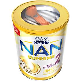 Sản phẩm dinh dưỡng công thức Nestlé NAN SUPREME 2 lon 800g (CÔNG THỨC BỔ SUNG 2HM-O)-3