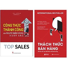 Combo Thách Thức Bán Hàng - Để Làm Chủ Cuộc Đối Thoại Với Khách Hàng+Top Sales - Công Thức Thành Công Của Người Bán Hàng Xuất Sắc