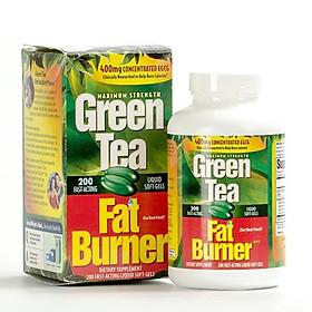 Thực phẩm bổ dưỡng Giảm cân Trà Xanh Green Tea Fat Burner 400mg 200 viên của Mỹ