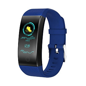 QW18 Fitness Bracelet Smart Band Pedometer Bracelet Heart Rate Monitor IP68 Waterproof Tracker Intelligent Clock PK Mi Band 3 2