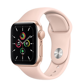 Đồng Hồ Thông Minh Apple Watch SE GPS Only Aluminum Case With Sport Band (Viền Nhôm & Dây Cao Su) - Nhập Khẩu Chính Hãng