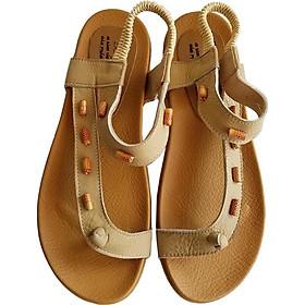 Giày Sandal Xỏ Ngón Nữ BIGGBEN Da Bò Thật SDN10