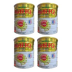 Bộ 4 Lon Sữa Bột Nutifood Nuti IQ Gold Step 3 (Từ 1 - 2 tuổi) - 1.5kg