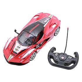 Xe đua điều khiển 1:12 (Đỏ - mở cửa - pin sạc) - 5968-R