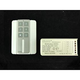 Bộ công tắc điều khiển bật tắt từ xa 4 kênh