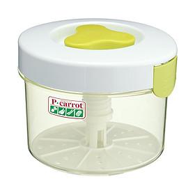 Combo hộp muối dưa cà 3L + hộp đựng thực phẩm 1,6L - Tặng hộp đựng mì ống nội địa Nhật Bản