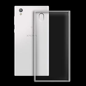 Ốp lưng cho Sony Xperia L1 - 01157 - Ốp dẻo trong - Hàng Chính Hãng