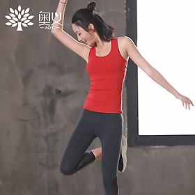 Bộ Quần Áo Thể Thao Yoga AOYI 2018 Đỏ - L-2