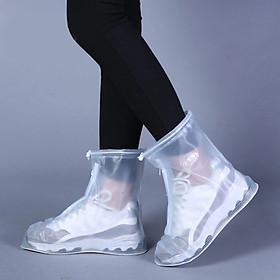 Ủng, Túi PVC Bọc Giày Đi Mưa PVC Có Đế Chống Trơn   Chống Nước, Chổng Bẩn Tuyệt Đối