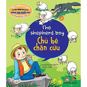 Truyện Tranh Ngụ Ngôn Dành Cho Thiếu Nhi: Chú Bé Chăn Cừu ( Song Ngữ Anh - Việt)