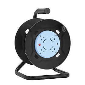 Bull (BULL) Overheat protection cable reel socket / strip GN-8030 4-bit 30 m reel project dedicated