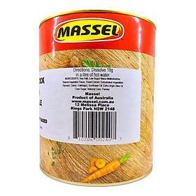 Hạt nêm Massel Premium hương vị Gà 100% không chứa bột ngọt (2 Kg - Ăn chay được) - Nhập khẩu Australia