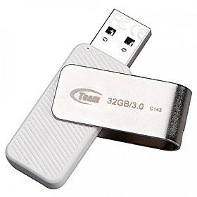 """USB Team Group C143 Trắng 32GB - USB 3.0 - Hàng chính hãng giá chỉ còn <strong class=""""price"""">107.702đ</strong>"""