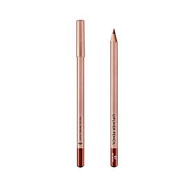 (BẢN MỚI) Chì Kẻ Viền Môi Vacosi Lipliner Pencil No.7 - Red Brown Đỏ Nâu