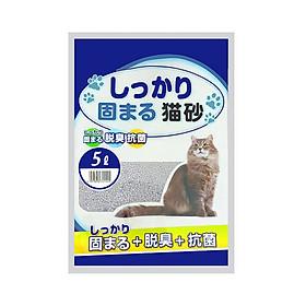 Cát Nhật vệ sinh cho mèo 5 lít cao cấp