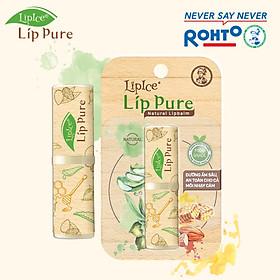 Son Dưỡng Chiết Xuất Thiên Nhiên Lipice Lip Pure Không Mùi (4g)-5