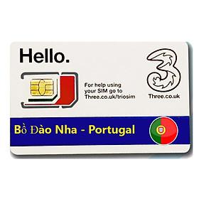 Sim Du lịch Bồ Đào Nha - Portugal 4G tốc độ cao