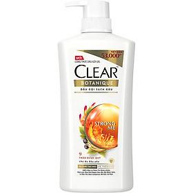 Dầu Gội Sạch Gàu Clear Botanique 9 Thảo Dược Quý (630g)