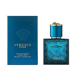Versace Eau de Toilette Spray for Men, Eros, 1 Ounce