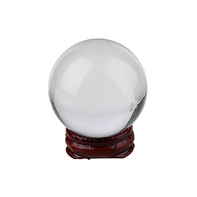 50/60mm Crystal Ball With Base Man-Made Crystal Artificial Sphere Microviewer