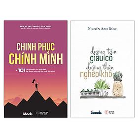 COMBO 2 cuốn sách: Chinh Phục Chính Mình + Dưỡng Tâm Giàu Có - Dưỡng Thân Nghèo Khó