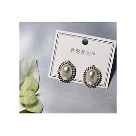 Hình đại diện sản phẩm Bông tai Hàn Quốc - Hoa tai đẹp sang chảnh - Khuyên tai đi dự tiệc, đám cưới, sinh nhật xinh xắn - Mẫu 39