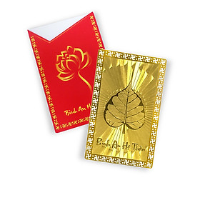 Thẻ bình an hộ thân quà tặng mỹ nghệ KBP DOJI DJDEHOTHAN19Đ
