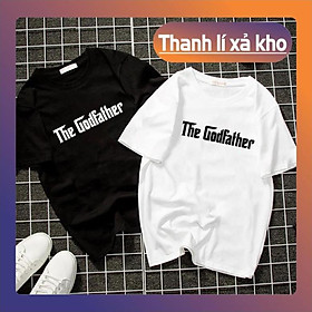 ÁO ĐÔIBÁN CHẠY Áo thun form rộng unisex the godfather vải dày mịn 2019T22063