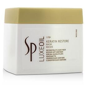 Mặt nạ ủ tóc SP Luxeoil Keratin Restore Mask phục hồi (Wella) 400ml