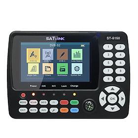 ST-5150 DVB-S2/T2/C COMBO HD Satellite TV Signal Finder Digital Handheld Signal Meter Satellite Finder H.265 HEVC MPEG-4