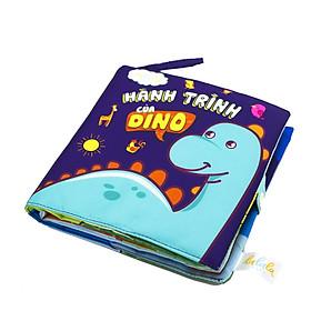 Sách vải Mô Mô Home Hành trình của Dino