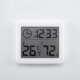Thiết bị đo nhiệt độ, độ ẩm màn hình LCD 3.2 inch PD-01 ( Tặng kèm 01 móc khóa tô vít đa năng )