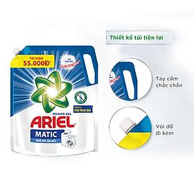 Combo 2 Nước Giặt Ariel Matic Khử Mùi Ẩm Mốc (3.25Kg/ Túi)