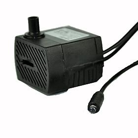 Máy bơm mini có đèn - máy bơm chìm - dùng cho thác nước phong thủy, bể cá