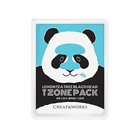 Mặt nạ lột mụn vùng chữ T BORNTREE Lemon tea tree black head T zone pack (7ml)