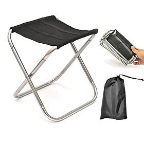 Bộ ghế xếp du lịch thích hợp câu cá, dã ngoại siêu tiện dụng kèm túi đựng ( Tặng kèm đèn pin mini dã ngoại thân thiện môi trường ngẫu nhiên )